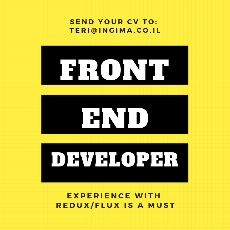 FRONT END developper