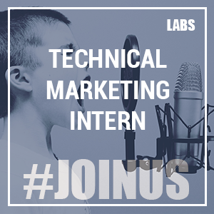 Technical Marketing Intern [CLOTURÉ]